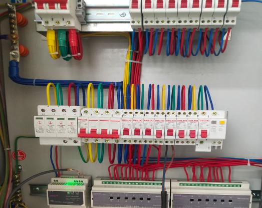 珠海金湾机场旧改智能照明系统